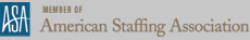 Member of  American Staffing Association